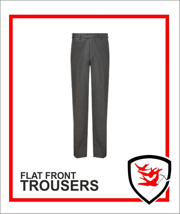 Senior Flat Front Trousers