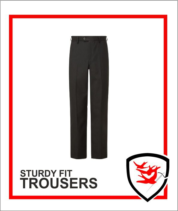 Senior Boys Sturdy Fit Trousers