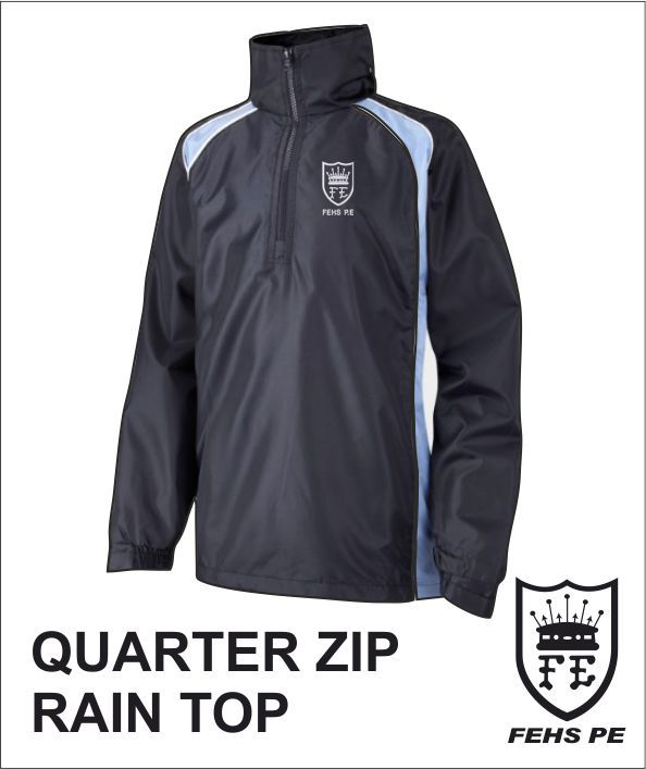 Quarter Zip Rain Top
