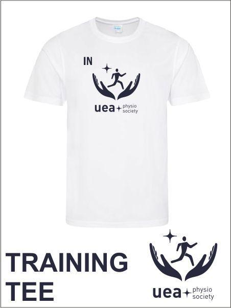 White Training Tee