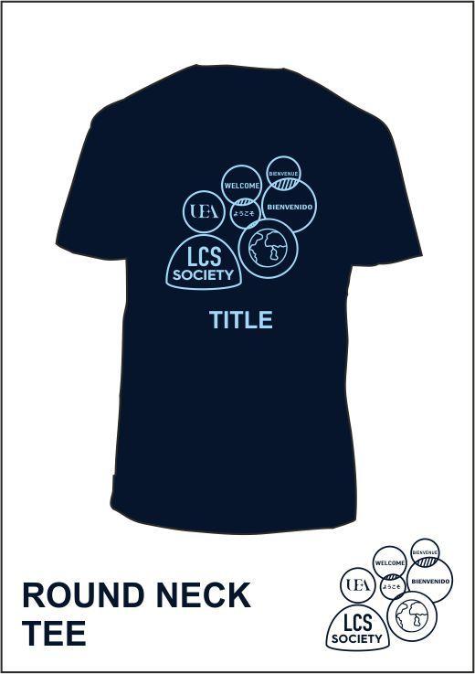 Tee Shirt Navy Back