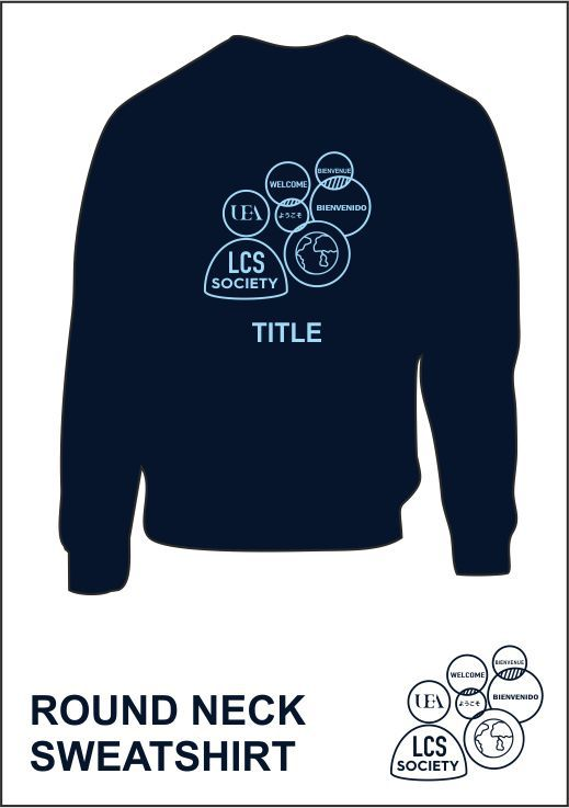 Sweatshirt Navy Back