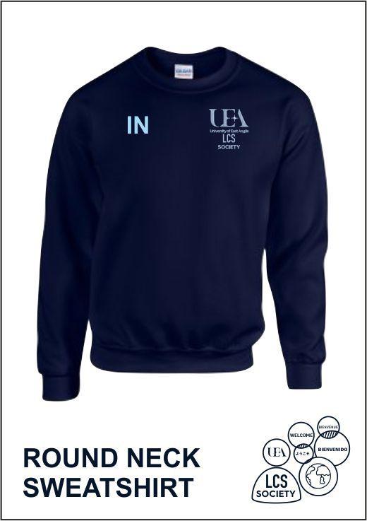 Sweatshirt Navy Front