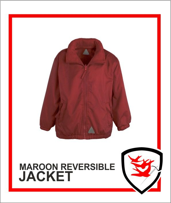 Reversible Jacket Maroon