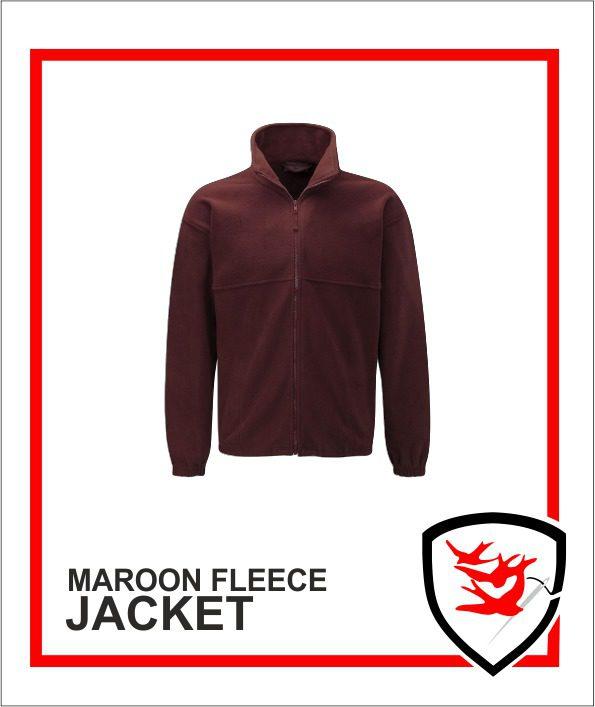 Fleece Maroon