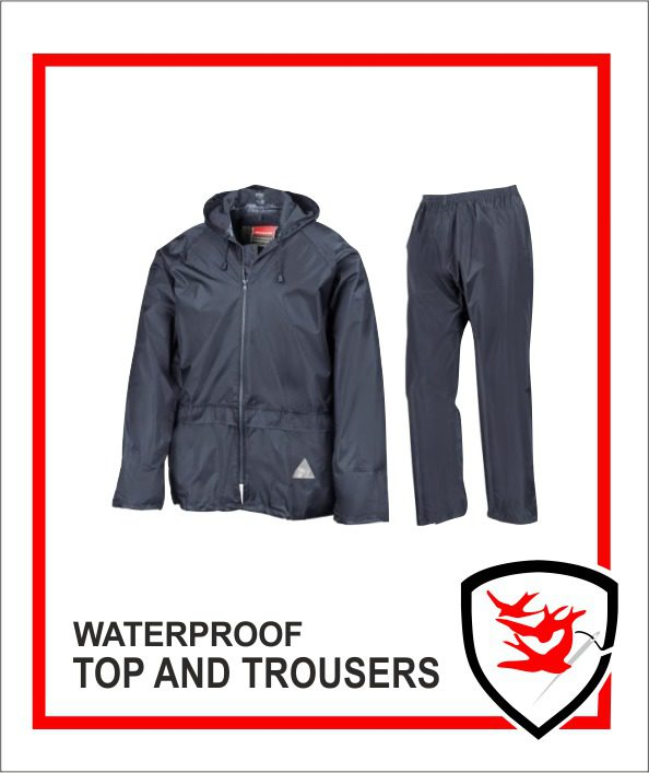 Waterproof Top and Trousers