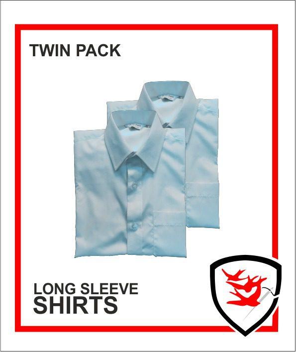 Blue Long Sleeve Shirts