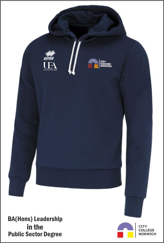 City College Public Sector Degree Hoody Front