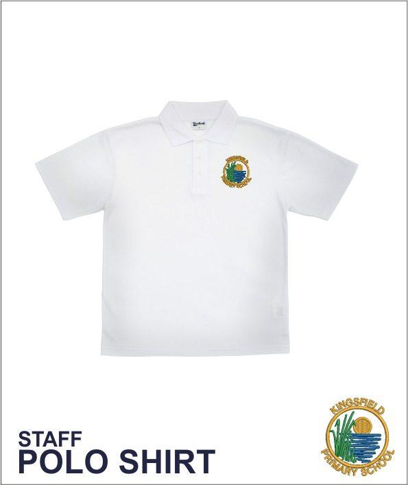 Staff Polo White
