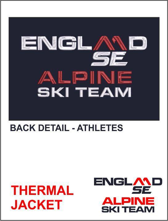 Thermal Jacket Back Detail