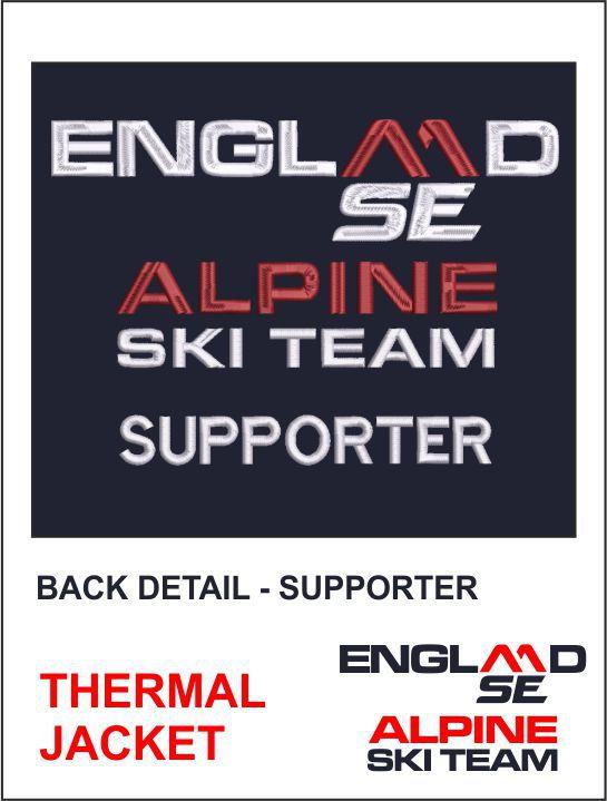 Thermal Jacket Back Detail Supporter
