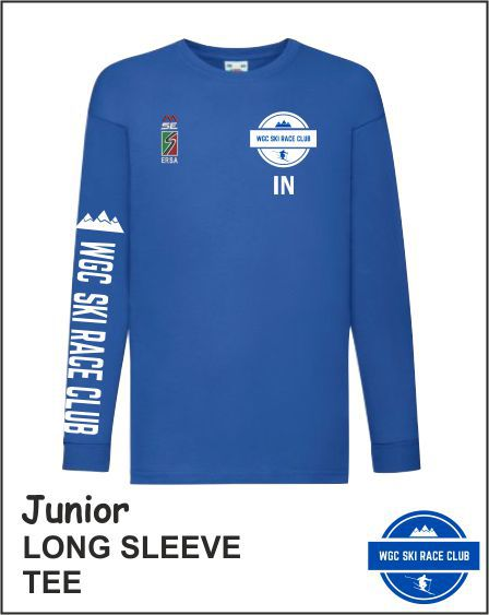 Junior Long Sleeve Tee Front