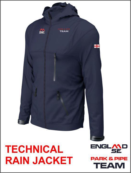 Tech Rain Jacket