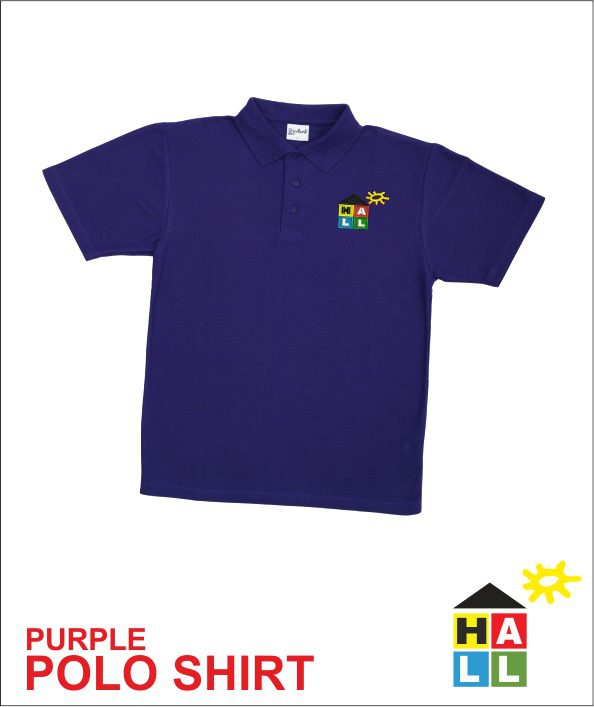 Polo - Purple