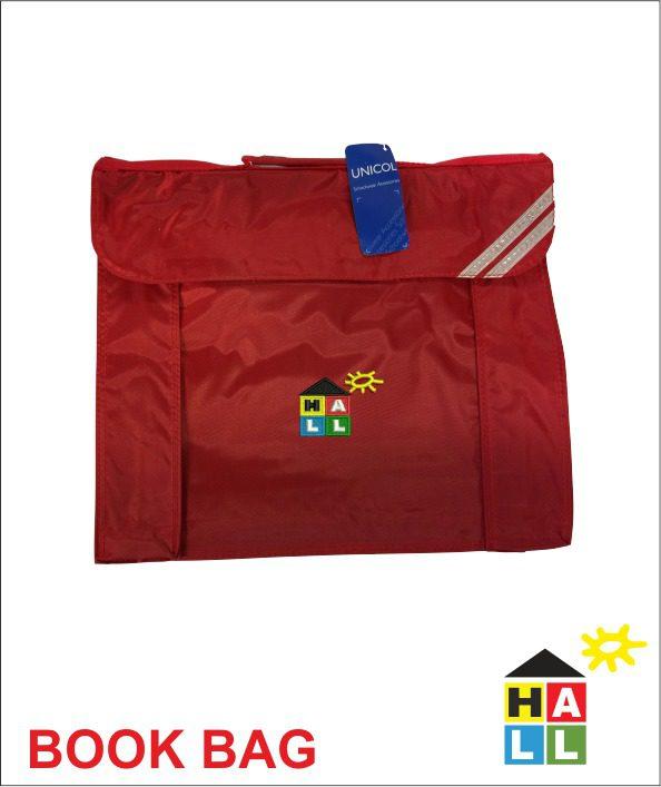 Book Bag Red