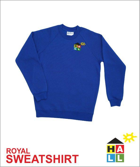 Sweatshirt - Royal
