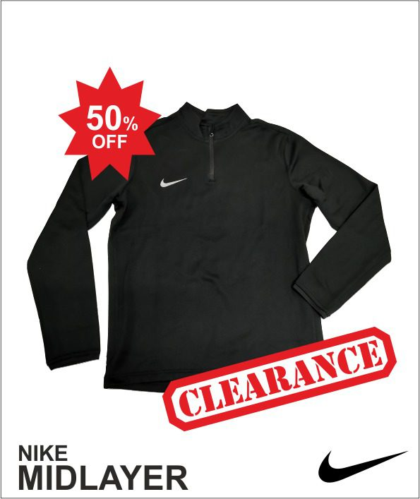 Nike Midlayer - Black