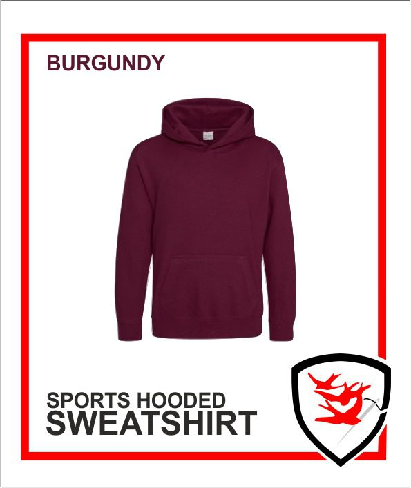 Hooded Sweatshirt burgundy