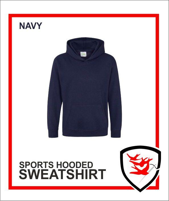 Hooded Sweatshirt Navy