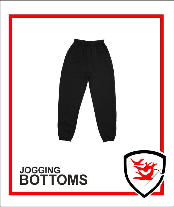 Jogging Bottoms Black