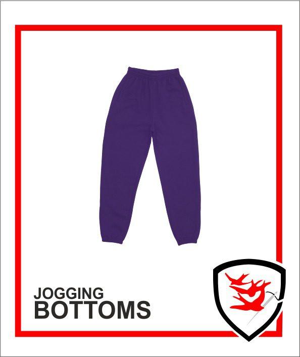 Jogging Bottoms Purple