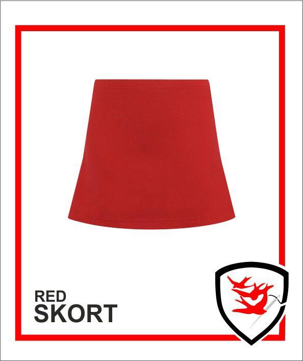 Skort Red