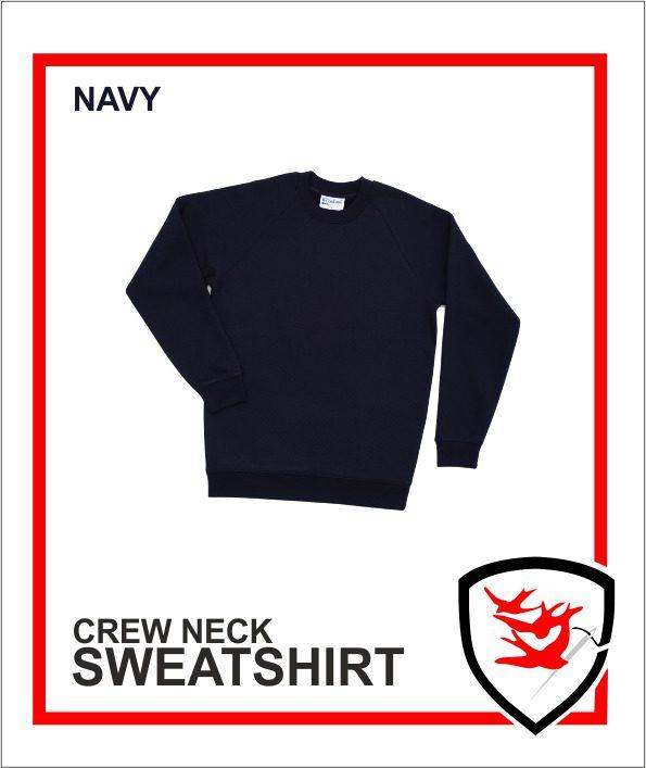 Crew Neck Navy