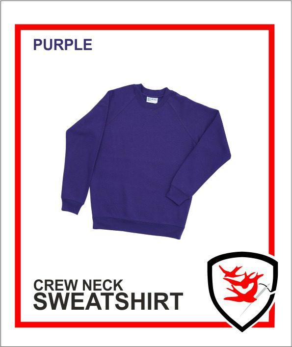 Crew Neck Purple