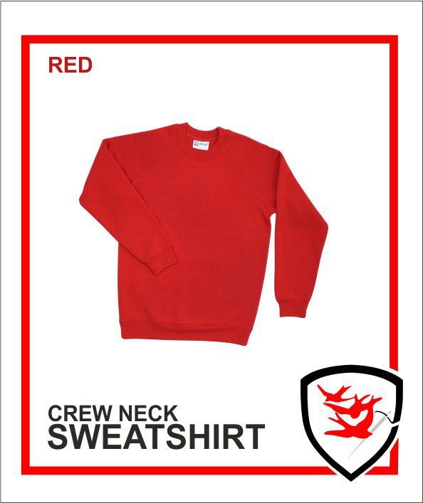 Crew Neck Red