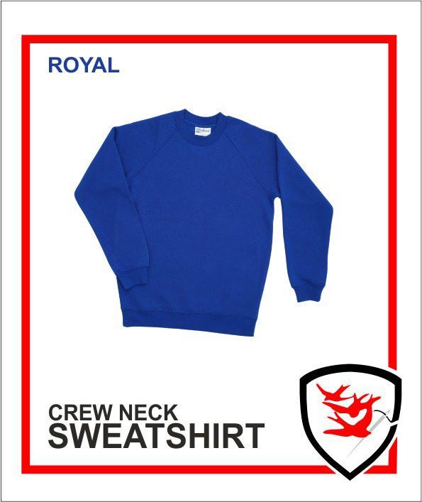 Crew Neck Royal