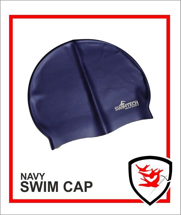 Swim Cap - Navy