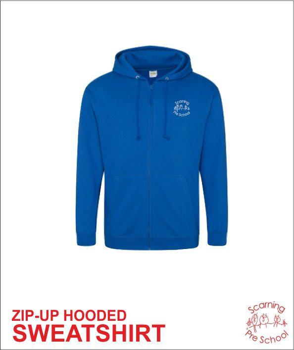 Staff Zip up Hoody