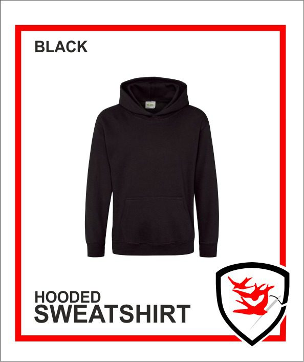 Hooded Sweatshirt Black