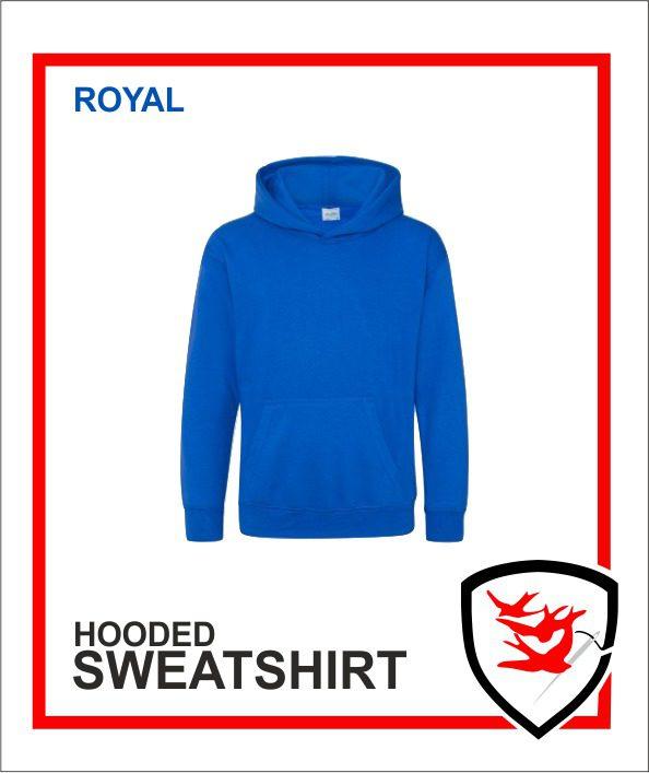 Hooded Sweatshirt Royal