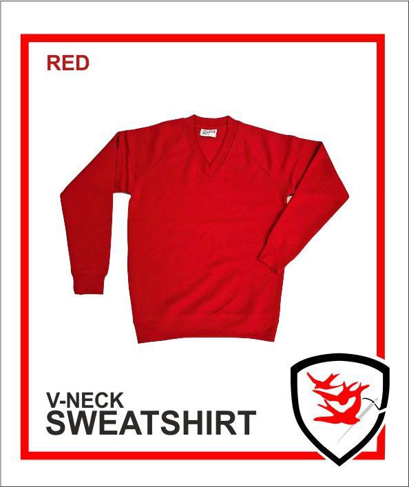 V-Neck Red