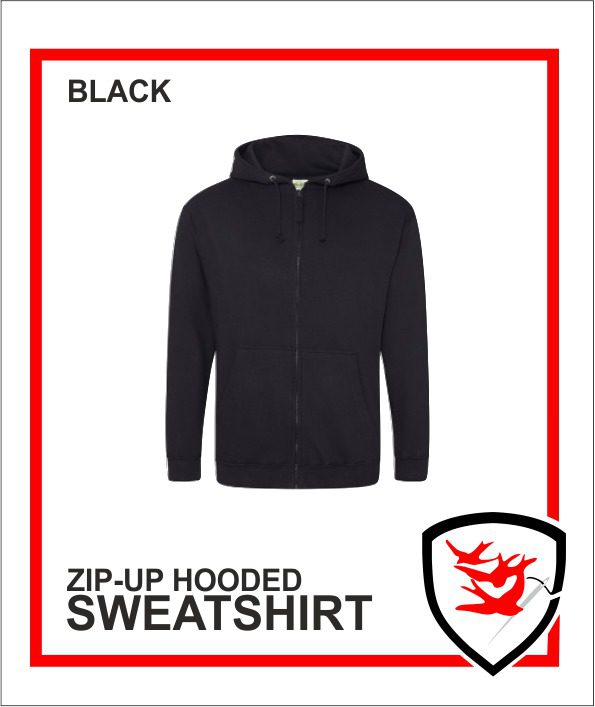 Zip Up - Black