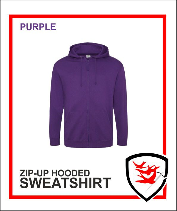 Zip Up Purple