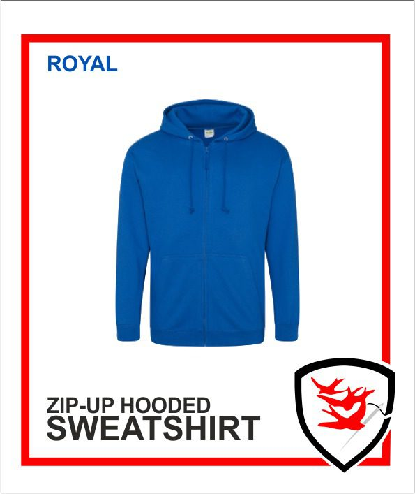 Zip Up Royal