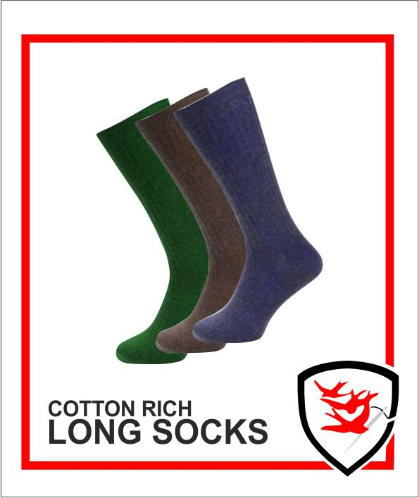 Cotton Rich Long Socks