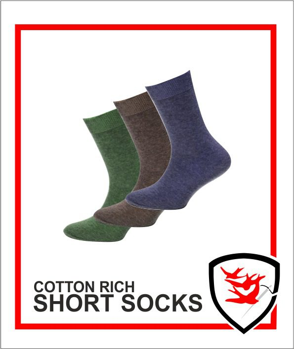 Cotton Rich Short Socks