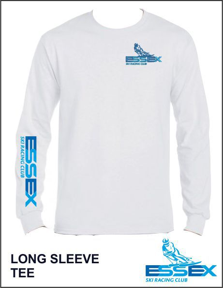 Ls Tee White Front