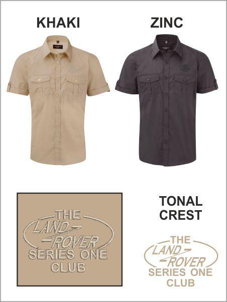 Tonal Safari Shirt
