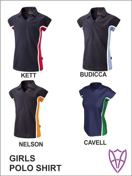 Girls Polo Shirt All Colours