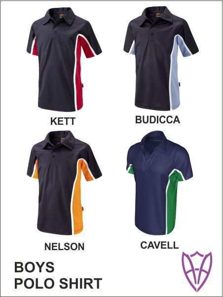 Boys Sports Polo All Colours