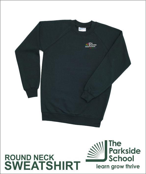 Round Neck Sweathsirt Green
