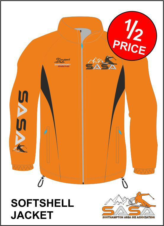 Clearance Softshell Front