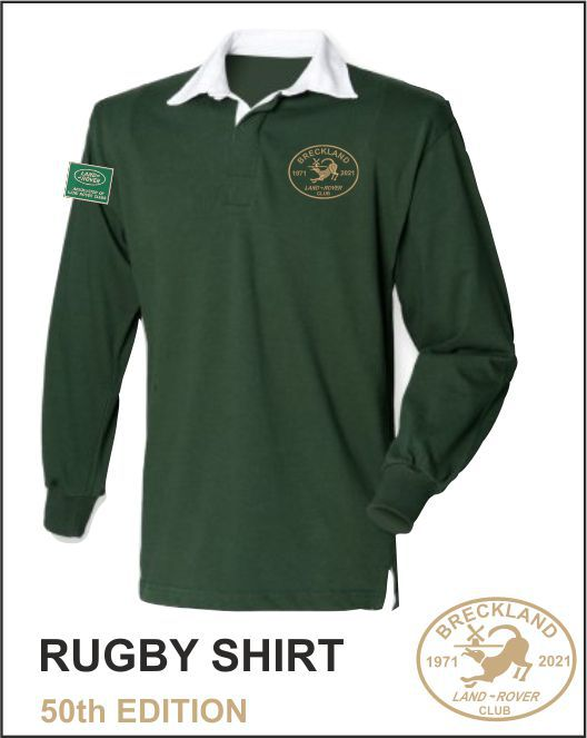 50Th Rugby Shirt Bottle