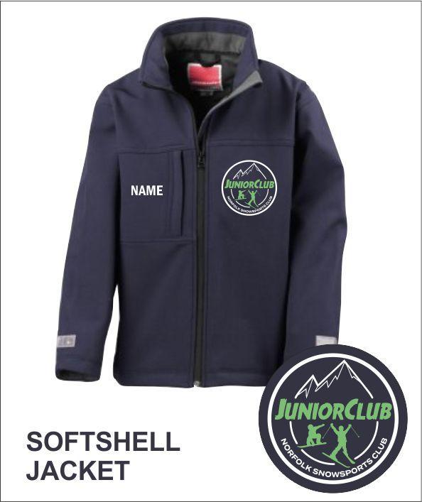 Softshell Jacket Navy Front