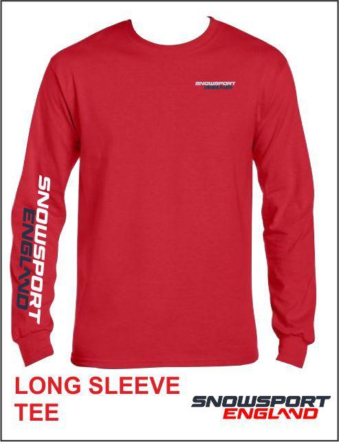 Long Sleeve Tee Red