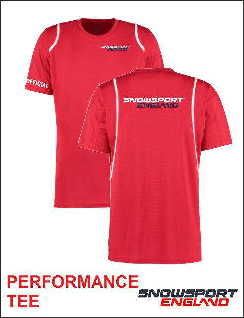 Performance Tee Red